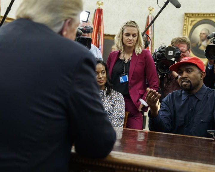 Rapero Kanye West: «Trump está ahora en su viaje de héroe»