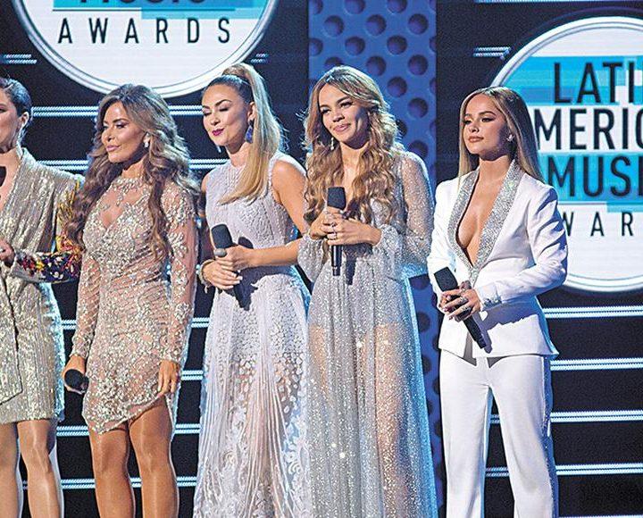 El trap y las mujeres triunfan en los Latin AMAS